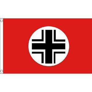 Balkenkreuz Flag 5Ft X 3Ft Germany German Banner With 2 Metal Eyelets New by Balkenkreuz