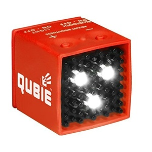 QUBIE Bluetooth Micro LED Light Cube, Red by I C One Two