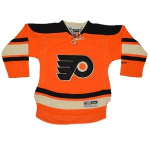 Boys NHL Philadelphia Flyers Hockey Jersey with Embroidered Logo L/XL Orange