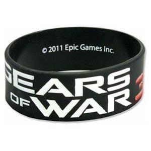 GEARS OF WAR 3 Title Silicone Bracelet (Black) by Gears of War