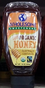 Wholesome Sweeteners Organic Honey 16 Oz (Pack of 2) by Wholesome Sweeteners