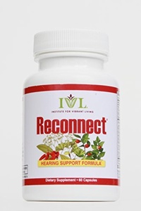 Institute for Vibrant Living ReconnectTM, 60 Capsules, Restore Hearing, Hearing Loss Supplement - 1 Month Supply by Institute for Vibrant Living