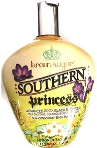 Southern Princess 200x Black Bronzer Indoor Tanning Bed Lotion 13.5 Oz Bottle by TAN