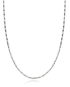 Italian 925 Sterling Silver 2.6mm Heshe Chain Necklace - 16, 18, 20, 22, 24, 30 Inches (22)