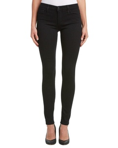 Joe's Jeans Womens Mid Rise Leggings Pants Black 25