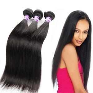Hotbaby Hair Brazilian Straight Virgin Hair 3 Bundles Human Hair Extensions Brazilian Hair Straight Weave Wet and Wavy Human Hair