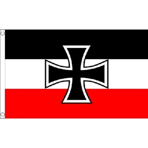 German Navy Ensign Small Flag 3Ft X 2Ft Germany Millitary Decoration by German Navy Ensign