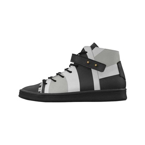 Shoes No.1 Women's Sneakers Lyra Round Toe High-top Shoes Contrast Angles For Outdoor