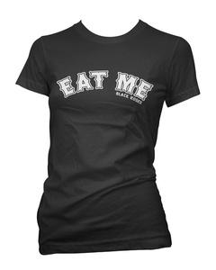 Black Roses Women's Eat Me T-Shirt XX-Large Black