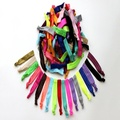 Heaven Rainbow Ribbon Hair Ties Extreme Comfort (60-Pack)