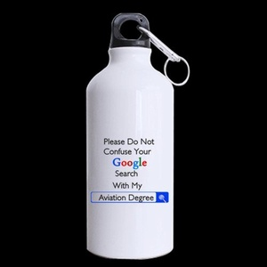 NEONATOLOGISTS Gifts Please Do Not Confuse Your Google Search With My Neonatology DEGREE 13.5oz Sports Bottle(Two Sides)