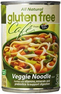Veggie Noodle Soup 15 Ounces (Case of 6) by Gluten Free Cafe