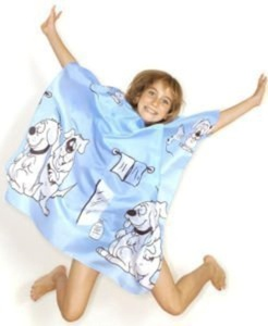 Hairtools Children's Doggy Blue Gown by Hair Tools