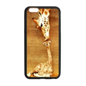 Case for iPhone 6 Plus & iPhone 6S Plus,Fashion Giraffe Design Rubber Case for iPhone 6 Plus & iPhone6S Plus,Soft TPU Case Cover for Apple iPhone 6 Plus / iPhone 6S Plus(5.5