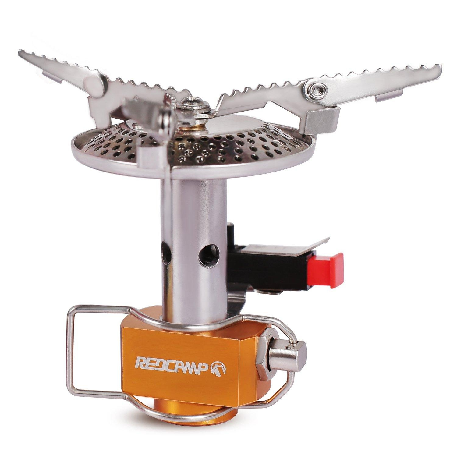 Online store redcamp mini portable camping stove for Propane stove left on overnight