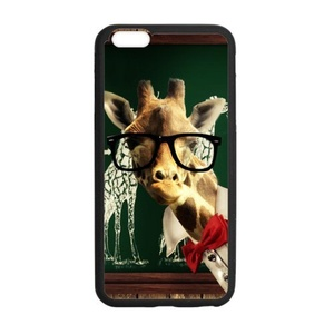 Cover for iPhone6 plus,Case For iPhone 6 Plus / 6S plus,Phone Case for Apple iPhone 6S Plus,Case Cover for iPhone 6S Plus(5.5 inch),Giraffe Pattern Soft Rubber Case Cover for iPhone 6 Plus