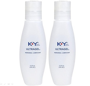 K-y Ky Ultra Gel Personal Unique Water-based Lubricant Liquid Gel : Net Wt 1.5 Fl Oz or 44 Ml (Pack of 2) by Multiple