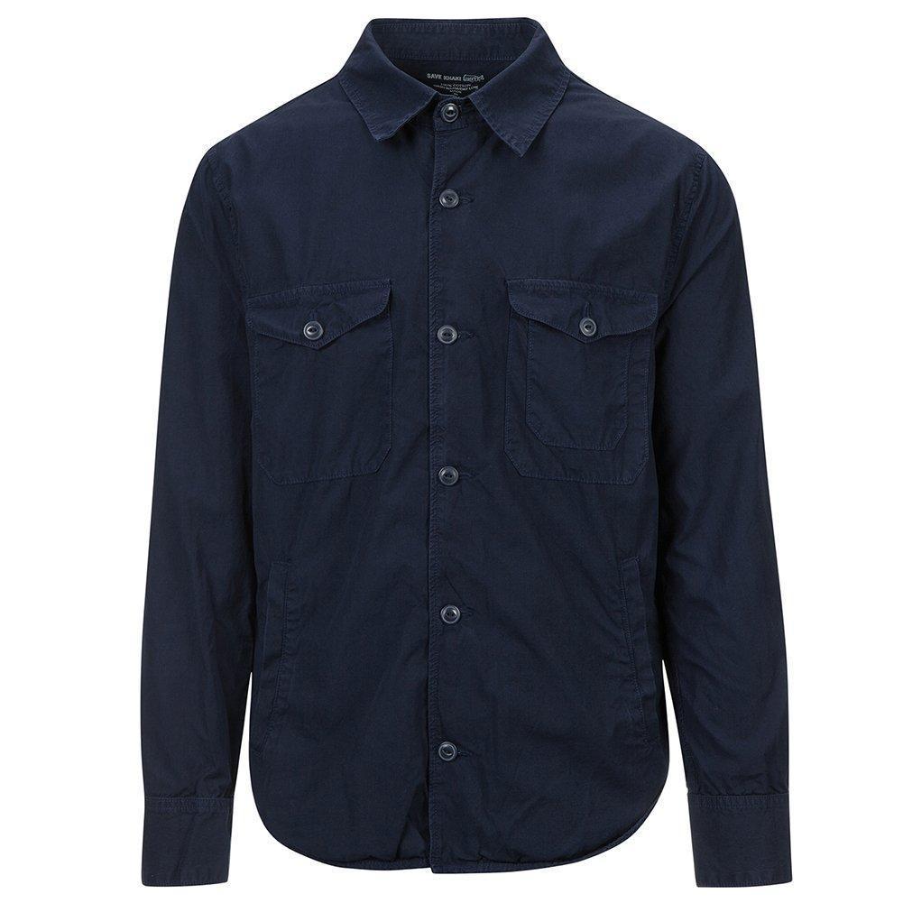 Save Khaki Men's Shirt Jacket SK848-UL Navy SZ S