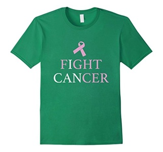 Men's Fight Cancer T-Shirt XL Kelly Green