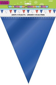 32ft Red, White and Blue Bunting Flags by Bunting Flags