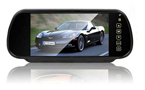 Car Styling 7 inch TFT LCD Screen Car Rear View Monitor Display for Rearview Reverse Backup Camera Car TV Display
