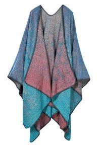 VamJump Women Winter Pashmina Oversized Blanket Poncho Cape Shawl Cardigan Coat