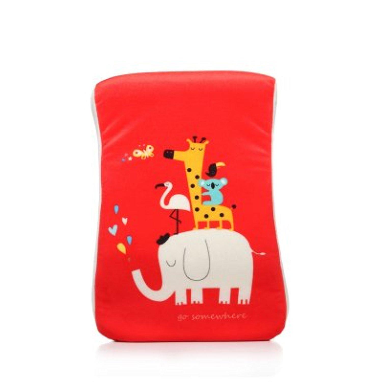 Cartoon Elephant / leopard /letter Memory Foam Pillow Travel Pillows Nap Pillow (B)