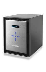 NETGEAR ReadyNAS 626X Network Attached Storage Diskless 6-Bay Diskless, Black/Silver (RN626X00-100NES)