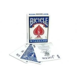 Bicycle Playing Cards, Poker Size, Blue Back by Bicycle