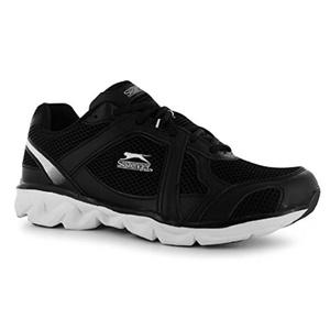 Mens Slazenger Venture Trainers Shoes Black White (UK 10 / US 10.5)