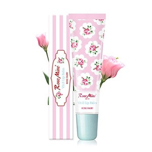Rose Mine Vitamin E Lip Balm Rose Fairy 12g