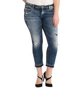 Silver Jeans Co. Sam Dark Wash 18 x 25