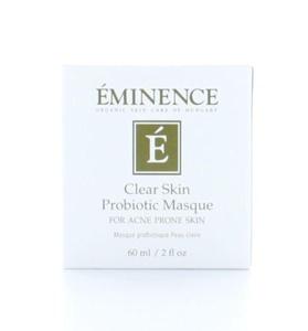 Eminence Organics Clear Skin probiotic Masque 2oz/60ml Care the Skin