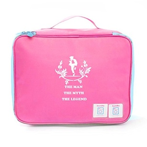 Aoapp The Man The Myth The Legend - MJ Oxford Portable Storage Bags Travelling Cosmetics Organize Bag