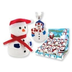 Snowman Necklace and Gift Box Set by DM Merchandising
