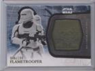 Flametrooper #46/100 (Trading Card) 2016 Topps Star Wars: The Force Awakens Series 2 Medallions Gold #10