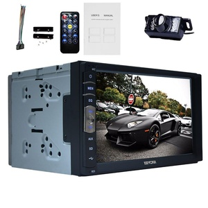 Eincar New Linux system capacitive Touch Screen 2 Din 7 inch Car video Player Stereo System MP3 Radio dvd Bluetooth Autoradio USB/SD In Dash Head Units built-in mirror link