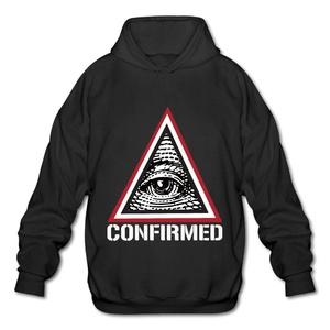 Illuminati Confirmed Men's Adult Pullover Hooded Sweatshirt X-Large