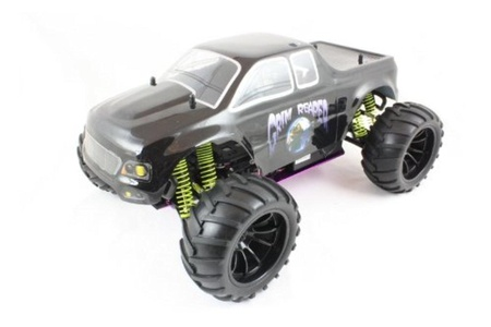 Spare Part Monster Truck Body 1p Grim Reaper (10611) by Spare Part