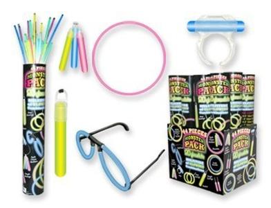 Glowsticks Variety Pack : package of 44 by DM Merchandising