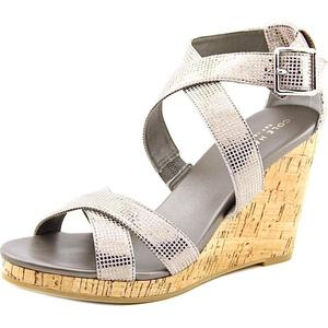Cole Haan jillian wedge Women US 7 Gray Wedge Heel