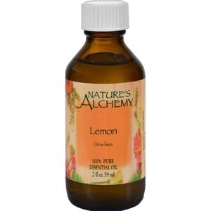 2Pack! Nature's Alchemy 100% Pure Essential Oil Lemon - 2 fl oz