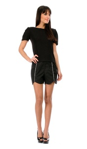 Rose Couture Women's Shorts JASMINE XL Black