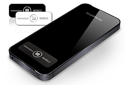 memonizerMOBILE Cell Phone EMF Protection Device from Memon of Germany (Black)