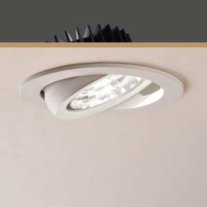 OBSESS 12W 4-Inch LED Ceiling Light Downlight Spotlight Recessed Lighting Fixture Adjustable Gimbal Down Light Recessed LED Downlight-Daylight 6000K,900 Lumen,Dimmable(LED Recessed Ceiling Lights)
