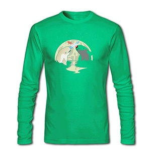 Nar Wars for Men Printed Long Sleeve Cotton T-shirt