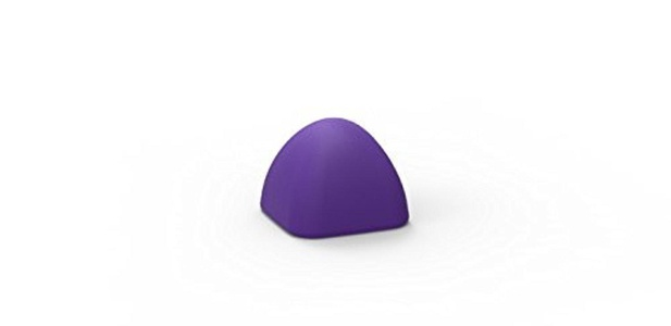 Massage Blocks Medium Block Outperforms A Lacrosse Ball for Self Myofascial Release, Reactive Violet by Massage Blocks