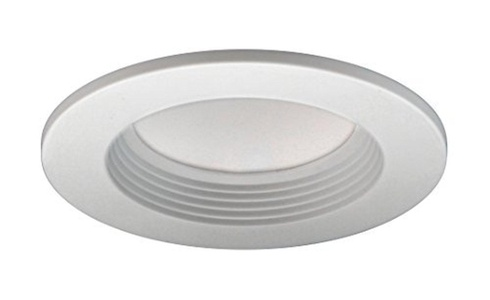 NICOR Lighting DLR4-SD-1005-WH-BF 4 Sunset Dimming LED Recessed Downlight Retrofit in White by NICOR Lighting