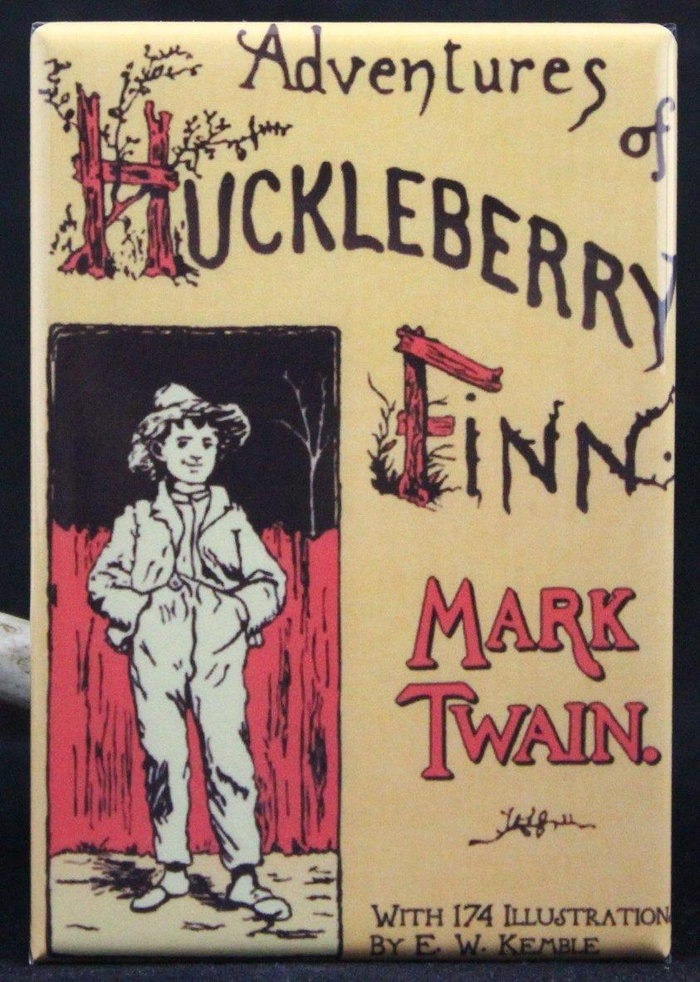 the intolerance between different social groups in the adventures of huckleberry finn