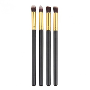 Hommii Professional 4pcs Eye Brushes Set Eyeshadow Blending Pencil Brush Make up Tool Cosmetic Makeup Eyeshadow Lip Eye Blush Foundation Power Brush Kit